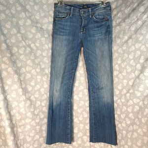 The comfiest citizens of humanity cropped jeans